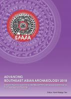 Advancing Southeast Asian Archaeology 2019